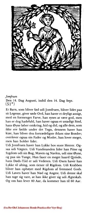 Uge 35 udvalgt fra Per-Olof Johansson:Bonde-Practica eller Veyr-Bog 1975